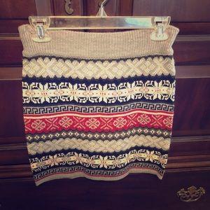 Mini Knit skirt